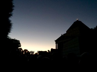 Shrine of Remembrance, Melbourne, Anzac Day, dawn service | See more at www.diywoman.net