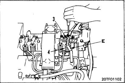 How to Adjust Valve Clearance for Komatsu PC25-1, PC30-7