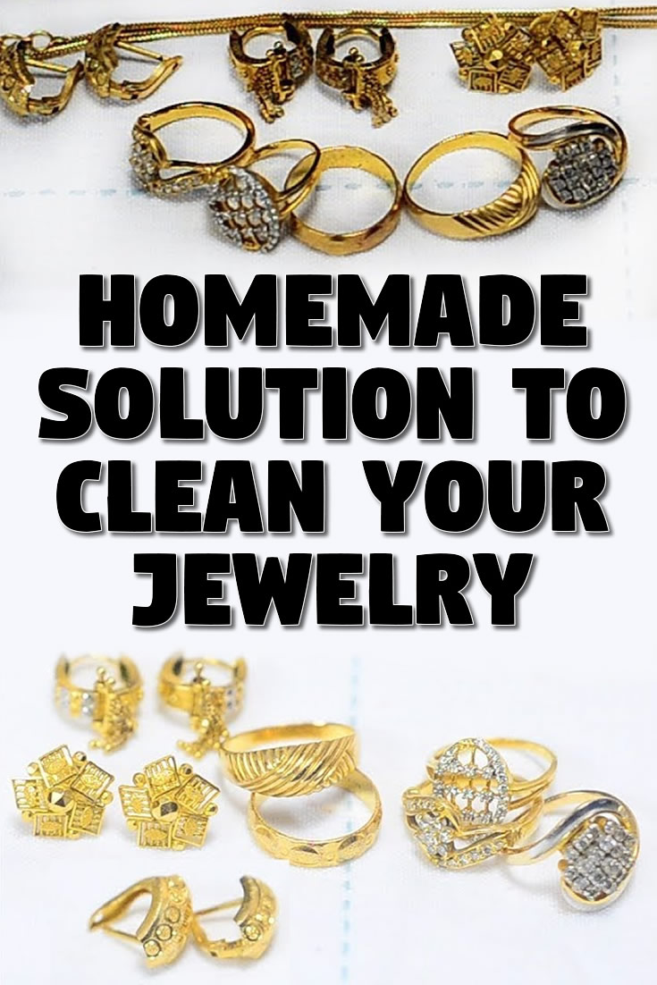 Homemade Solution To Clean Your Jewelry