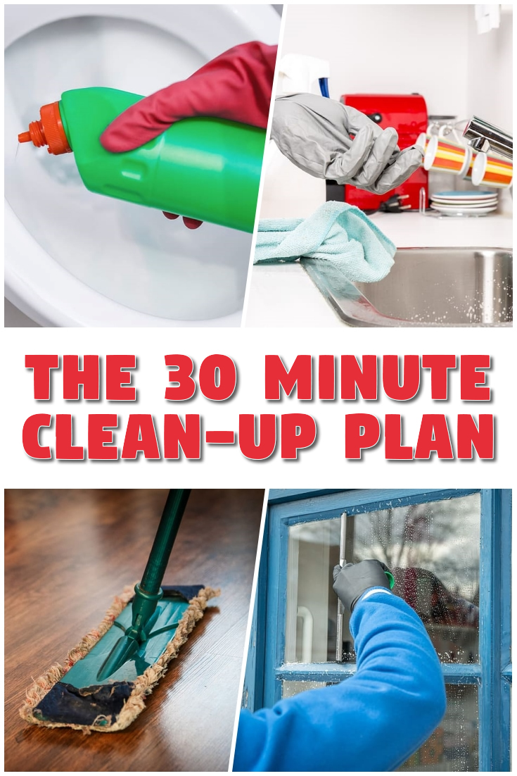 The 30 Minute Clean-Up Plan