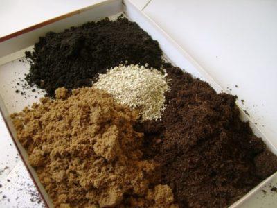 Componenti della miscela del suolo