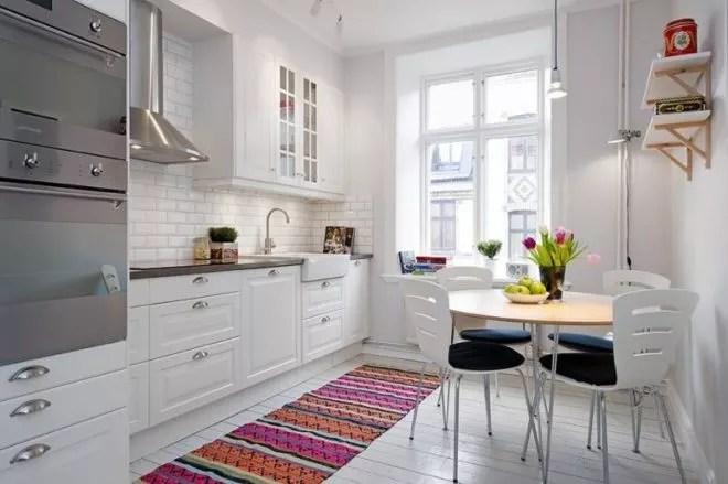 маленькая кухня дизайн 9 квм 3