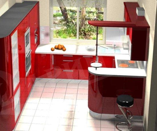 дизайн кухни 9 кв м с диваном 7