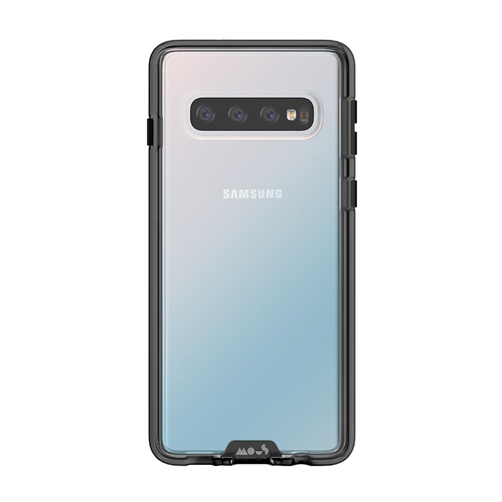 Mous【Samsung Galaxy S10+ / S10 Plus 6.4吋】透明 Clarity 軍規防摔保護殼 - DJ SHOP
