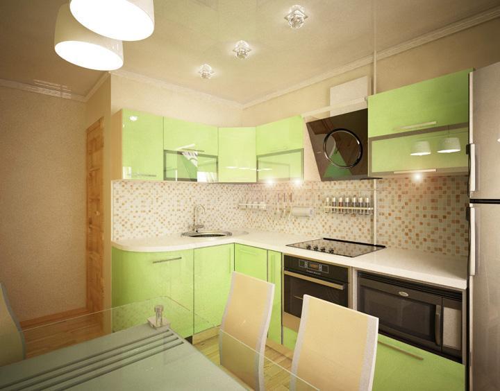 Разнообразие идей для дизайна кухни в 8 м2