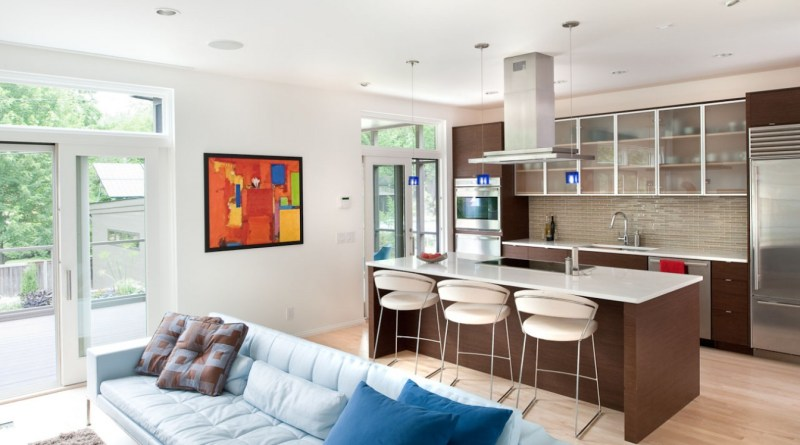 kitchen-combined-living-room