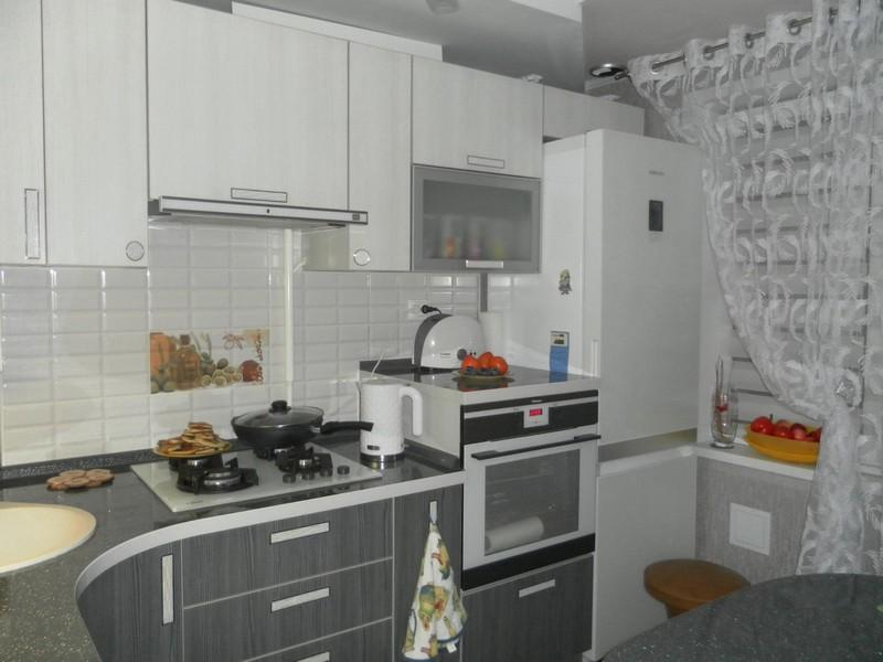кухня 6 метров дизайн 7