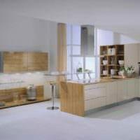 Дизайн интерьера кухни столовой в частном доме. Кухня в частном доме: варианты планировки и оптимальные стили (150 фото)