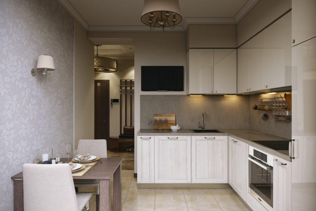 дизайн кухонного гарнитура 1