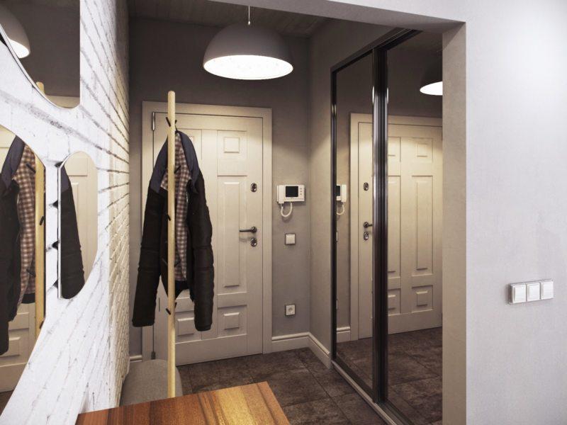 коридор в хрущевке дизайн фото реальные 6