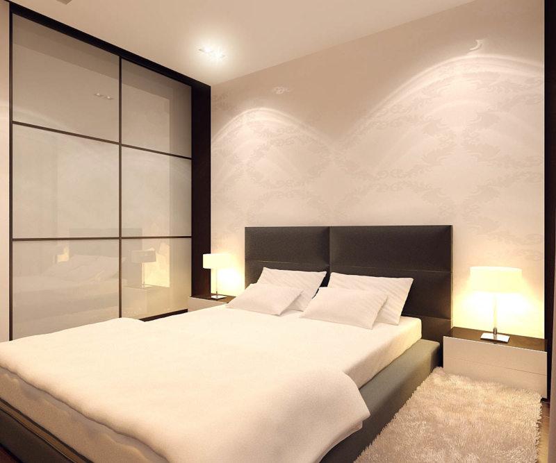 дизайн маленькой спальни 12 квм фото 3
