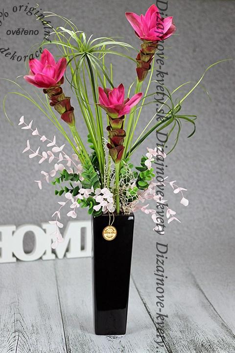 Moderné dizajnová kvetinová dekorácia.