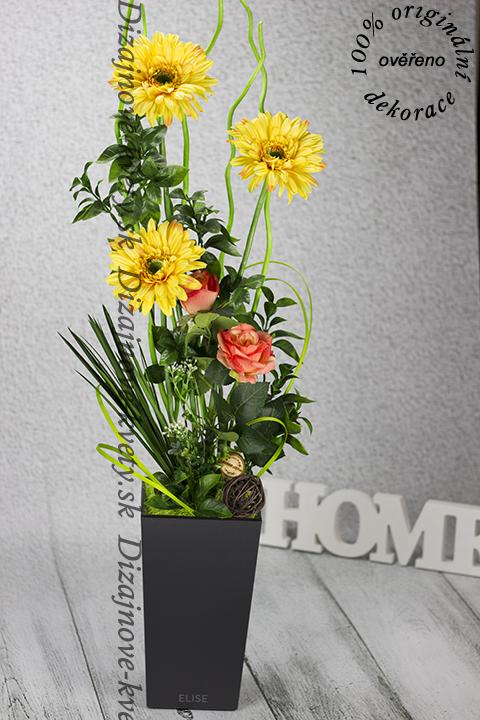 Trvanlivé žlté kvety