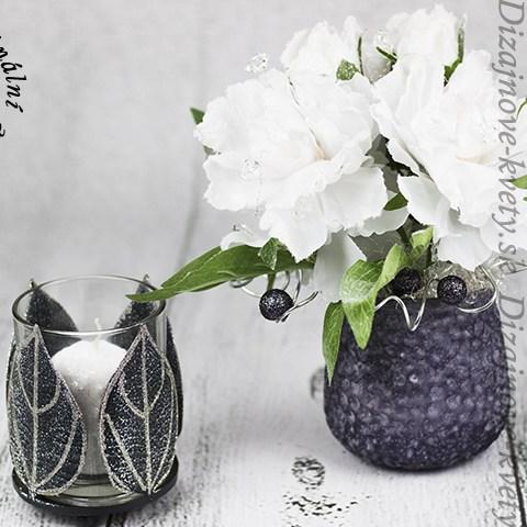 Luxusný dizajn v bielo čiernej farebnej kombinácii