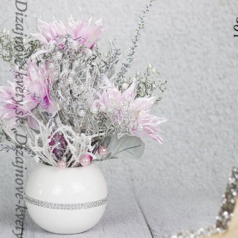 Dekorácie z kvetín v zimnom háve do bytu, domu, reštaurácie, hotela, alebo penziónu.