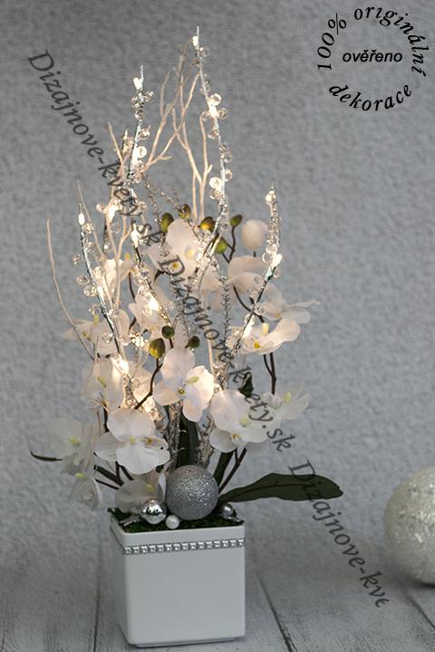 Led dekorácie miesto osvetľovacie lampy.