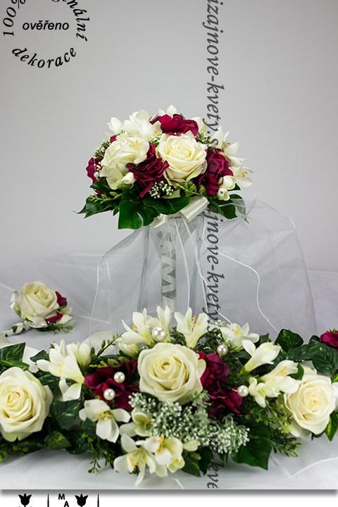 Svadobná luxusná kytica pro nevestu