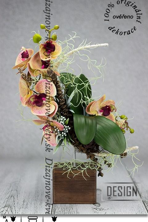 dizajn, orchidea, bytové aranžmá, ikebana