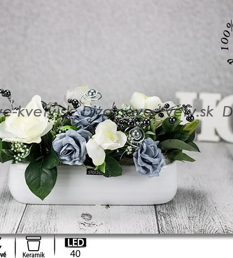 kvetinová dekorácia, dizajnová dekorácie, ľad dekorácie