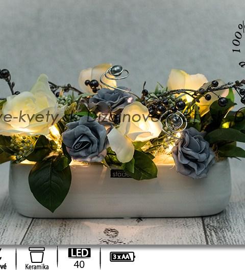 ľad dekorácie, dekorácie do bytu, dizajnová dekorácie, ruže
