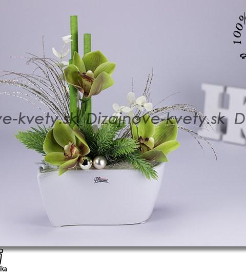 orchidea, vianočné dekorácie, ľad dekorácie, kvetinové aranžmá, design