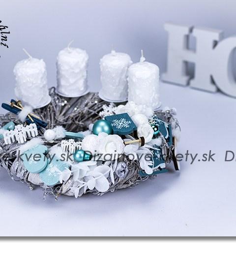 dekorácie na stôl, bytová dekorácie, adventné svietnik, sviečky