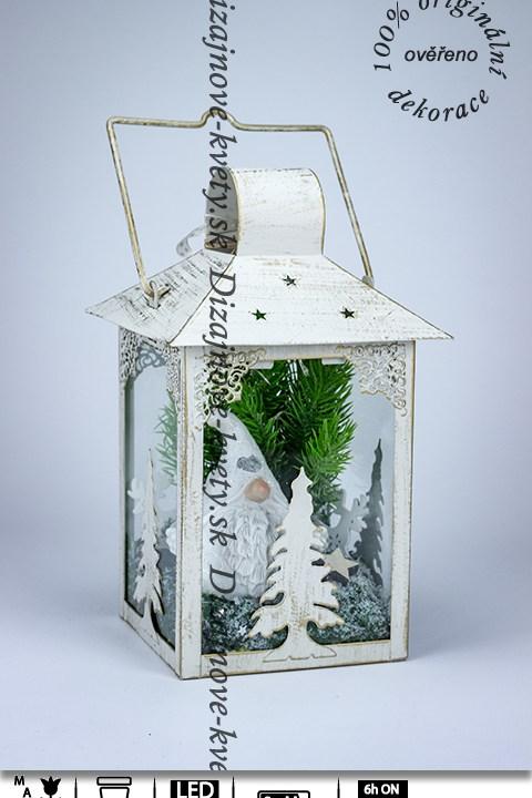 ľad lucerna, vianočné škriatok, darček deti, jelínci, vianočný stromček