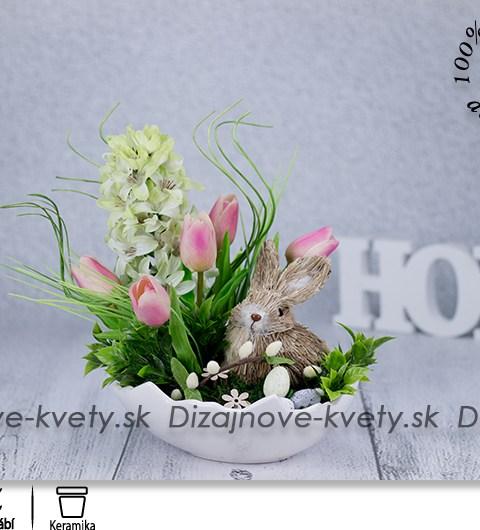 tulipány, škrupina, veľkonočné dekorácie, jarné dekorácie, dekorácie na stôl