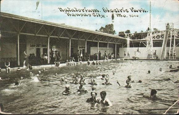 Electric Park Kansas City swimming pool
