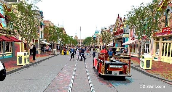 Main Street USA Disneyland Anaheim