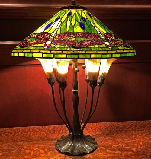 Light fixture lamp at entrance to Disney's Grand Californian Hotel
