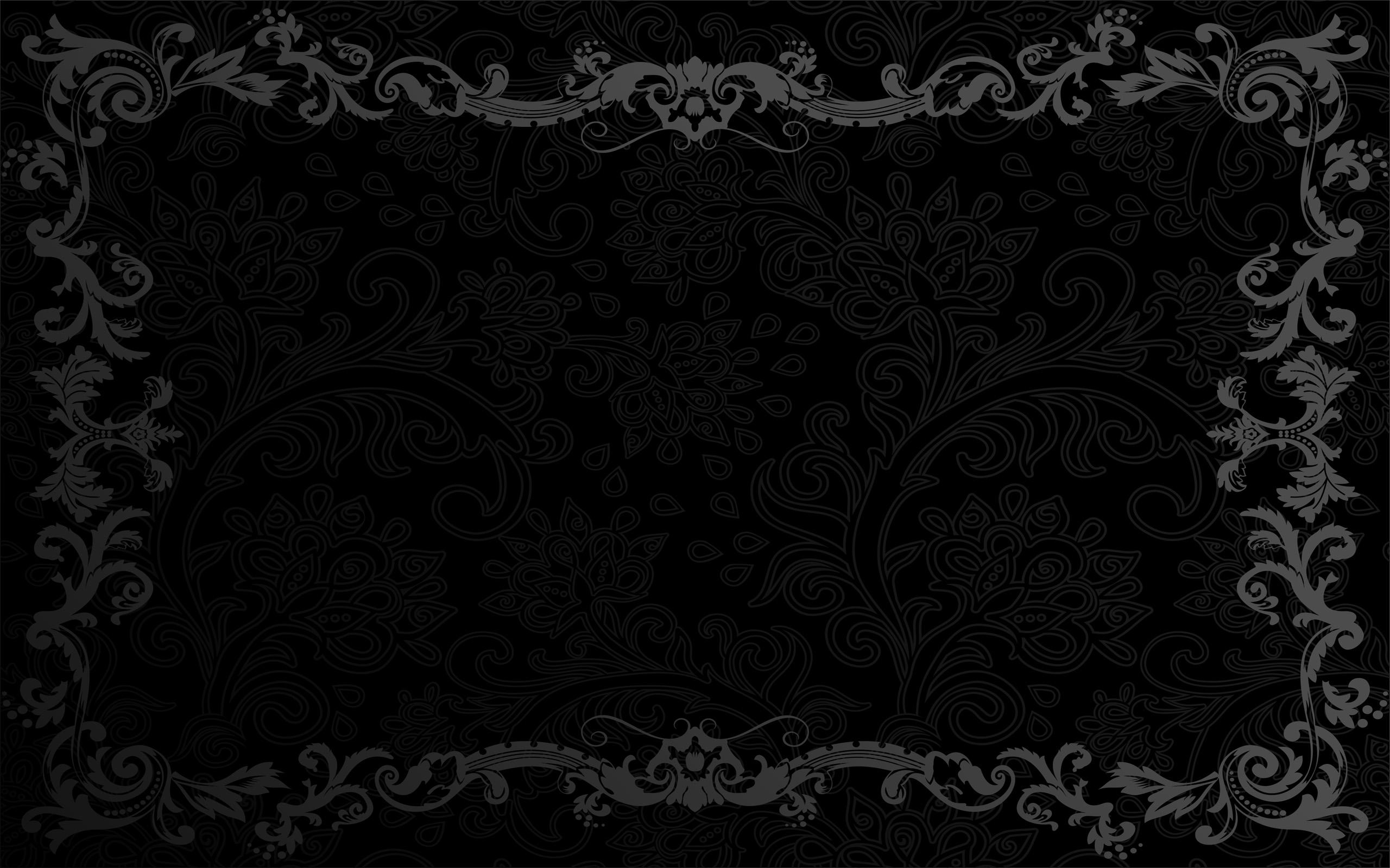 Black Frame White Background