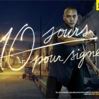 10 JOURS POUR SIGNER X AMNESTY INTERNATIONAL [Campagne print/web/vidéo en LightPainting]