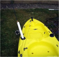 Homemade Fishing Rod Holder Kayak | Car Interior Design