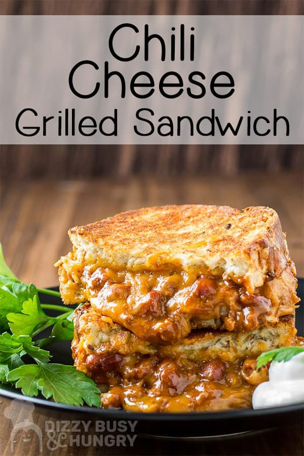 chili cheese grilled sandwich