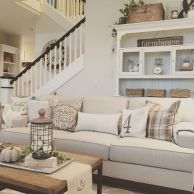 20 + Home Decor Ideas Living Room Rustic Farmhouse Style Ideas 12
