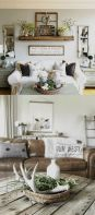 20 + Home Decor Ideas Living Room Rustic Farmhouse Style Ideas 51