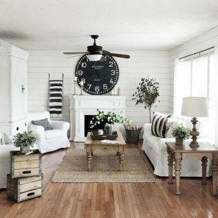 20 + Home Decor Ideas Living Room Rustic Farmhouse Style Ideas 52