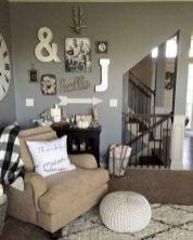 23 + Reason You Didn't Get Farmhouse Decor Living Room Rustic Wall 23