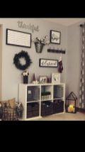 23 + Reason You Didn't Get Farmhouse Decor Living Room Rustic Wall 48