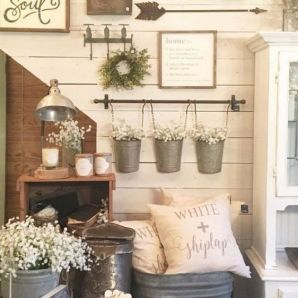 23 + Reason You Didn't Get Farmhouse Decor Living Room Rustic Wall 58