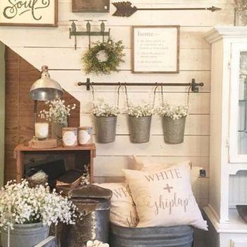 23 + Reason You Didn't Get Farmhouse Decor Living Room Rustic Wall 58