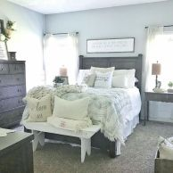 25+ Most Popular Master Bedroom Ideas Rustic Romantic Country 27