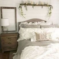 25+ Most Popular Master Bedroom Ideas Rustic Romantic Country 56