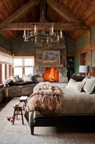25+ Most Popular Master Bedroom Ideas Rustic Romantic Country 6