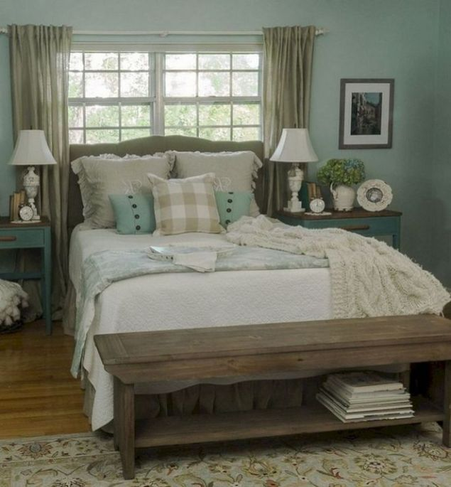 25 + That Will Motivate You Master Bedroom Ideas Rustic Farmhouse Style Bedding 13