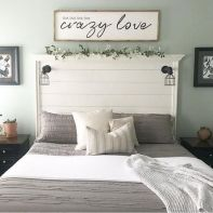 25 + That Will Motivate You Master Bedroom Ideas Rustic Farmhouse Style Bedding 27