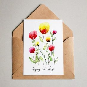 33 + Most Popular Ways To Watercolor Paintings Easy Step By Step Flower 5