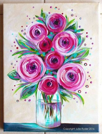 33 + Most Popular Ways To Watercolor Paintings Easy Step By Step Flower 53