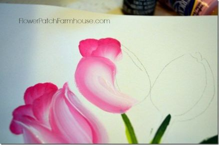 33 + Most Popular Ways To Watercolor Paintings Easy Step By Step Flower 6